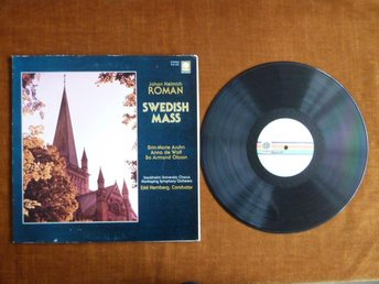 J.H.ROMAN, SWEDISH MASS,  LP, LP-SKIVA