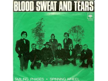 Blood Sweat and Tears  7´ Spinning wheel  1969  VG+