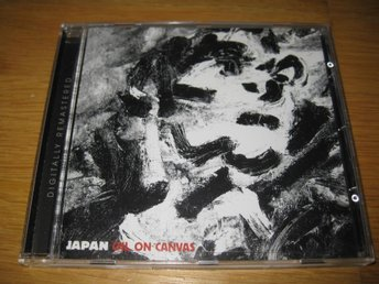 JAPAN - Oil on canvas/Live CD 1983/2006 / David Sylvian