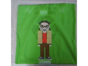 Big Bang Theory Leonard Kudde / Cushion Cover