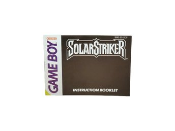 Solar striker (Manual GB SCN)