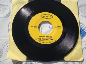THE TREMELOES - HELLO BUDDY 7""