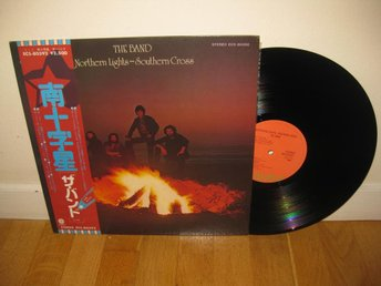 THE BAND - Northern lights-southern cross LP 1975 / Japan