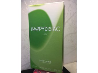 Ny Original Oriflame Sverige, HappyDisiac Man EDT parfym 75ml