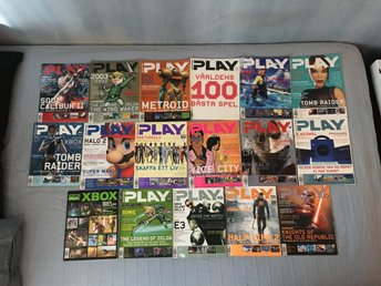 17 st Super Play tidningar (2002-2003)