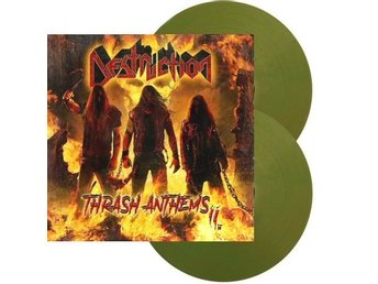 Destruction ‎–Thrash Anthems II dlp green/gold ltd 300 copie