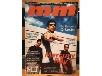 Musikermagasinet MM. Nr. 1, januari  2002. Mercury Rev m.fl.