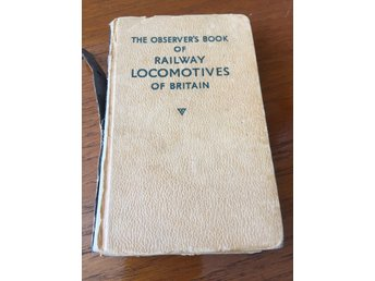 The observer's bok of railway lokomotivens of britain 1960 edition