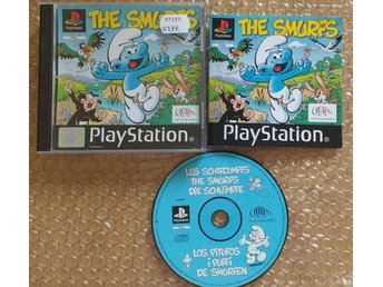 PlayStation/PS1: The Smurfs Smurfarna