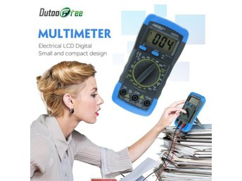 Digital Multimeter Voltmeter Ammeter ...
