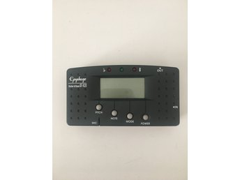 Digital guitar and bass tuner