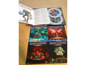 DVD - Iron Maiden - EN VIVO - 2 DISC STEELBOX - INCL 4 CARDS