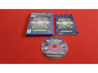 WHO WANTS TO BE A MILLIONAIRE PARTY ED Playstation 2 PS2