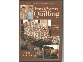 Fons & Porter's Love of Quilting 1300 series DVD