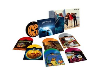Helloween -Starlight BOX S/S 7 vinyls, pumpkin slipmat, post