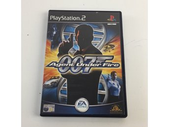 EA Games, Playstation 2-spel, James Bond 007 in... Agent under fire