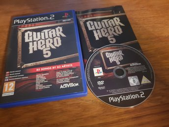 GUITAR HERO 5 PS2 BEG