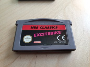 Excitebike - NES Classic Nintendo Game Boy Advance