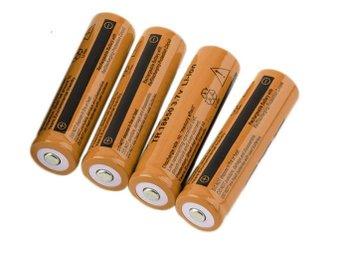 4 st 18650 Batterier Li-ion 3200mAh 3.7V laddningsbara Pannlampa 5000 lumen - Hong Kong - 4 st 18650 Batterier Li-ion 3200mAh 3.7V laddningsbara Pannlampa 5000 lumen - Hong Kong