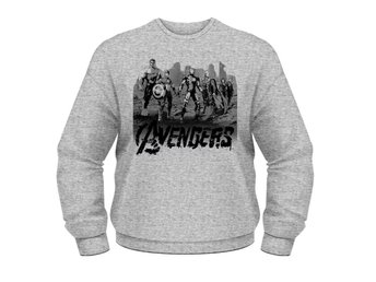 MARVEL AVENGERS- TEAM ART Crewneck -  X-Large
