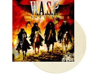 W.A.S.P. / WASP -Babylon LP US ONLY on WHITE vinyl RARE