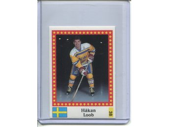 1991 Swedish Semic World Championship Stickers #38 Håkan Loob
