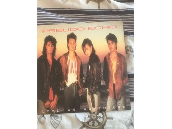 LP Skiva// Pseudo Echo   Love an Adventure             FRAKTFRITT