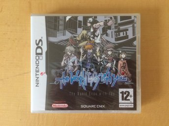 The World Ends With You - Nintendo DS - NYTT!