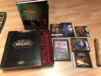 World of Warcarft Collector's Edition -FINT SKICK-