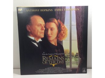The Remains of the Day (Anthony Hopkins, Emma Thompson) Laserdisc 2LD B8-28