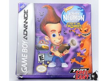 Jimmy Neutron Boy Genius Attack of The Twonkies (Amerikansk Version)