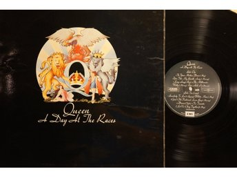 QUEEN - A DAY AT THE RACES SWEDEN 1976 + INNERSLEEVE