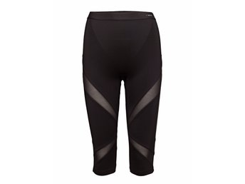 TRIUMPH Triaction svarta fit-ster capri tights, stl M /nya med lappar