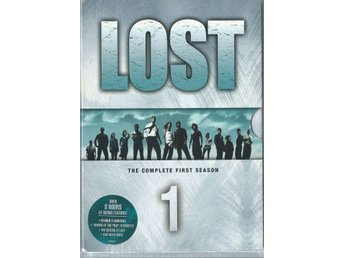 LOST - FIRST SEASON - DVD BOX  ( SVENSKT TEXT )