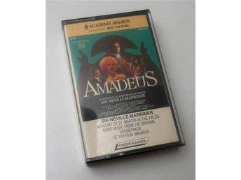 More Amadeus / Neville Marriner Academy of St. Martin kassettband 1985 - Enskede - More Amadeus / Neville Marriner Academy of St. Martin kassettband 1985 - Enskede