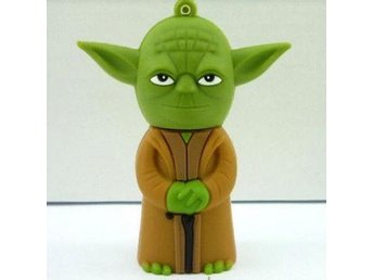 Yoda model 16GB USB 2.0 Flash Memory Stick Pen Drive Thumb