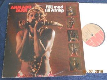 AHMADU JARR - Följ med till Afrika, LP EMI 1980 - Gävle - AHMADU JARR - Följ med till Afrika, LP EMI 1980 - Gävle