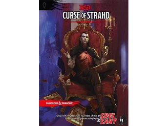 Dungeons & Dragons Curse of Strahd 5th Edition (Inbunden)
