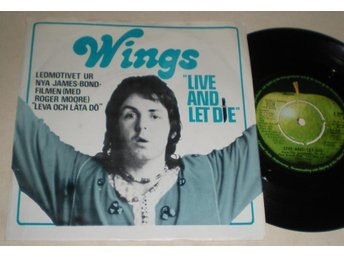 Wings 45/PS Live and let die 1973