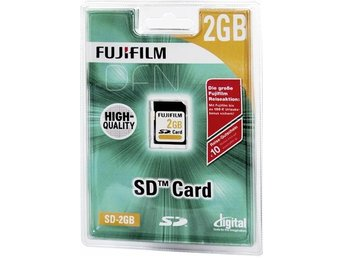 Fujifilm 2GB SD Card  High Quality EU N