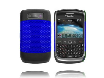 Gamma Shield (Blå) BlackBerry Curve 8900/9300 Skal