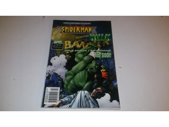 - Ultimate Spiderman Presenterar Hulk Nr2/2003 Marvel Comics -