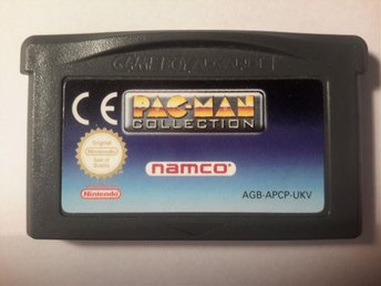 Pacman collection nintendo gameboy advance. GBA pac man