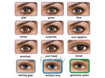 Färgade Kontaktlinser brilliant blue(1 pair) - Dongguan - Färgade Kontaktlinser brilliant blue(1 pair) - Dongguan