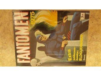 Fantomen 1975 VF/NM jul - Vårgårda - Fantomen 1975 VF/NM jul - Vårgårda