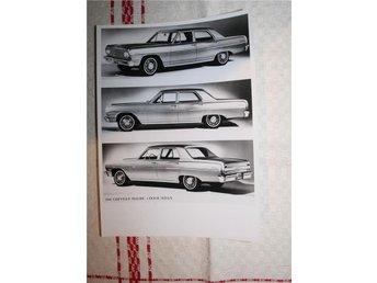 ÄLDRE FOTOGRAFI. 1964 CHEVELLE 4-DOOR SEDAN. - Stockholm - ÄLDRE FOTOGRAFI. 1964 CHEVELLE 4-DOOR SEDAN. - Stockholm