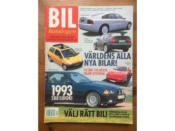 Bil Katalogen 1993 Bil 1993 bilar Mycket Bra Skick! bil tidning Tidskrifter - Bagarmossen - Bil Katalogen 1993 Bil 1993 bilar Mycket Bra Skick! bil tidning Tidskrifter - Bagarmossen