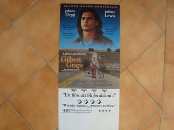 GILBERT GRAPE 30x70 1993 Johnny Depp, Leonardo di Caprio