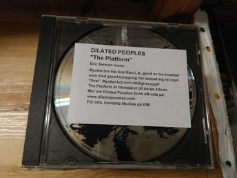 Dilated Peoples - The Platform, Promo