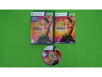 Zumba Fitness Join the Party xbox360 xbox 360